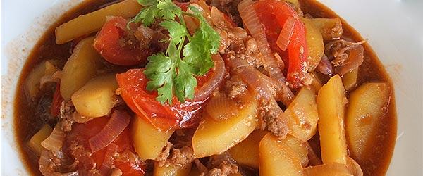 Kıymalı patates nasıl yapılır?