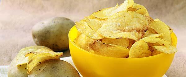 Ev yapımı patates cipsi tarifi