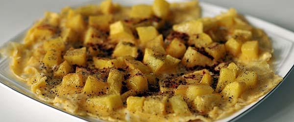 Patatesli omlet nasıl yapılır?