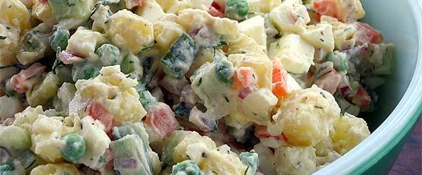 Rus salatası nasıl yapılır?