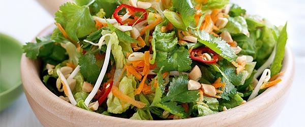 Asya salatası nasıl yapılır?