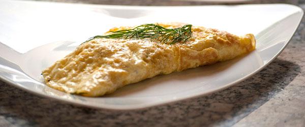 Dereotlu omlet nasıl yapılır?