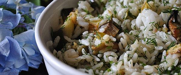 Patlıcanlı pilav nasıl yapılır?